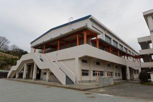 県立足柄高等学校体育館改修及び耐震補強工事