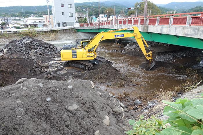 河川修繕工事(狩川災害防除)