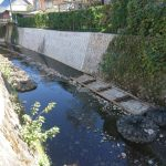 災害復旧工事 太刀洗川